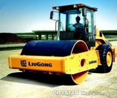 Compaction roller, CLG616 II, vibration compaction