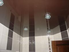 Потолок натяжной в туалет