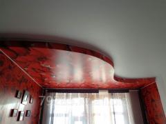 Потолок натяжной двухуровневый