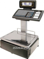 Scales with function of label printing dibal m525d