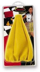 Чехол на КПП желтый KD-016 yellow, Чехлы кожаные