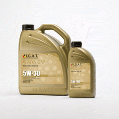 Motor oil for the Platin Gm Sae 5w-30 car art.