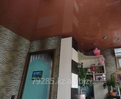 Цветной глянцевый потолок MSD