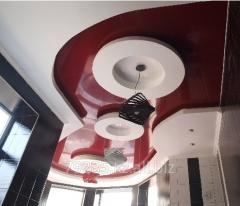 Натяжной потолок Цветной глянцевый  MSD