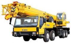 Crane, truck crane, luffing cranes
