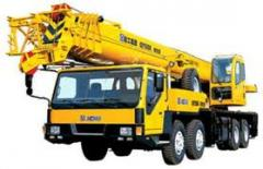 He hydraulic truck crane, truck cranes, Cranes the