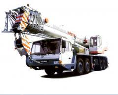 He hydraulic truck crane, the truck crane, Cranes