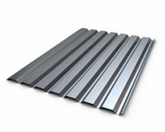 Professional leaf of galvanized 0,8 mm, H10, steel