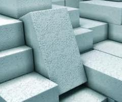 Gas-concrete blocks 625*200*250 with a density of