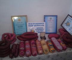 Varyonno-kopchyonny sausages