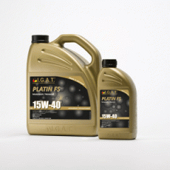 Motor oil for the mixed vehicle fleet of Platin FS