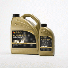 Motor oil for the mixed vehicle fleet of Platin