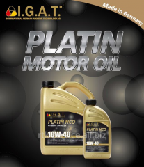 Engine oil for agricultural Platin Stou SAE 10W-30