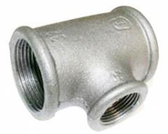 Tee pig-iron GOST 17376-2001, diameter 89