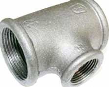Tee pig-iron GOST 17376-2001, diameter 133