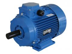 Electric motors, pumps of any execution and