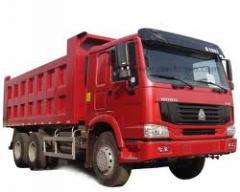 Dumping equipment, Dump truck grain carrier