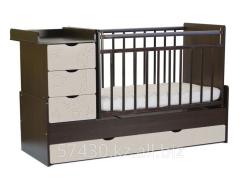 Кровать - трансформер СКВ-5, Жирафик  венге  -