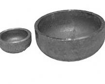 Cap steel elliptic Gost17379-2001, diametrom219 mm
