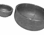 Cap steel elliptic Gost17379-2001, with a diameter