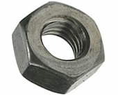 Nut steel GOST 5915-70, GOST 5927-70, with a