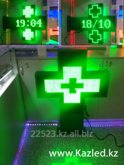 LED pharmaceutical interactive cross