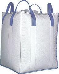 Bags are polypropylene, paper, big-run