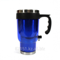 Thermo mug with heating