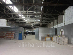Lease of storage and industrial facilities