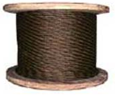 Rope steel talevy the LK-RO type, organic - 35 mm