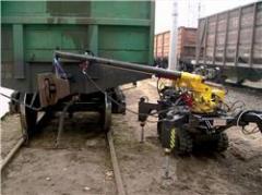 Для ремонта люков вагонов, Самоходная установка