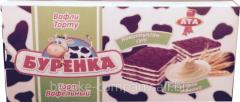 Cake Wafer Burenka 220 gr 1*15 Ata04