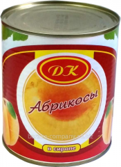 Apricot of tinned 211 recreation centers 820gr.