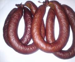 Sausage half-smoked Krakow