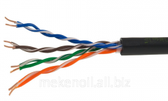 Cable twisted UTP 5E 4x2x0,52 (OUT) steam of 100%