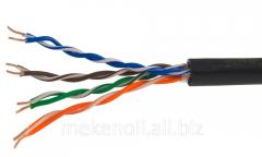 Cable twisted % UTP 5E 4x2x0,50 100 steam copper