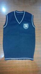 The vest is uniform