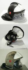 Шлем пожарного ШПС (белый)