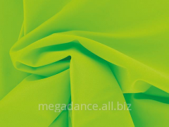 Fabric for dancing luster lycra electric green