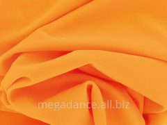Fabric for dresses of ball lycra saffron product