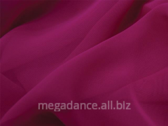Fabric for ball luxury georgette fuchsia pink