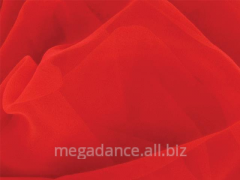 Fabric for ballroom dances of luxury georgette red
