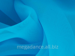 Fabric for ball luxury georgette blue paradise