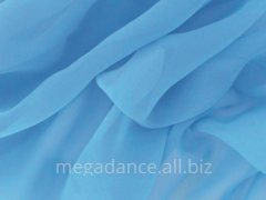 Fabric ball luxury georgette crystal blue product