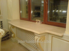 Window sill from a natural stone
