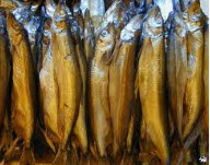 Cold-smoked fish