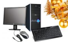 Продажа, сборка настольных компьютеров на заказ.