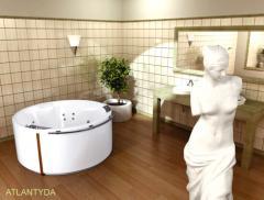 Bathtubs hydromassage POOLSPA