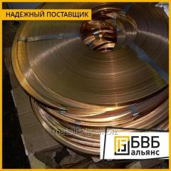 Лента биметаллическая Л90СтЛ90 (Томпак-Сталь-