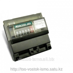 The Mercury power meter 201.5 is single-phase,